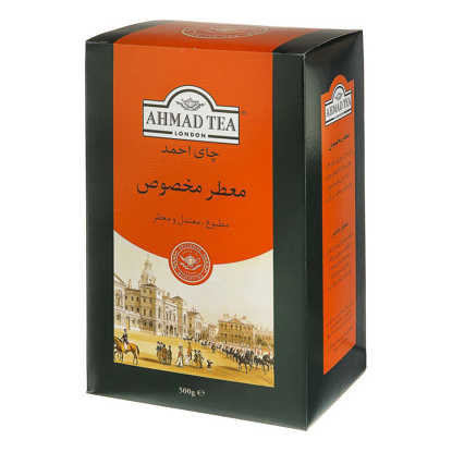 تصویر چای معطر مخصوص احمد 500 گرمی