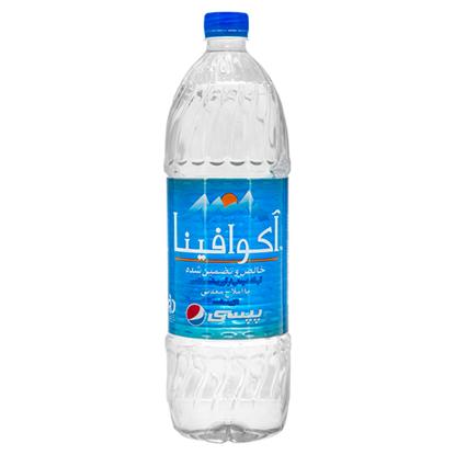 تصویر آب آشامیدنی با املاح معدنی آکوافینا (پپسی) 1/5 لیتری