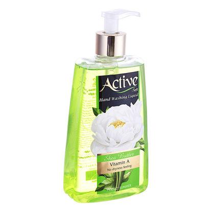 تصویر مایع دستشویی 250 گرمی شفاف سبز