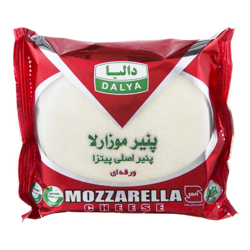 پنیر پیتزا موزارلا ورقه ای دالیا 180 گرمی