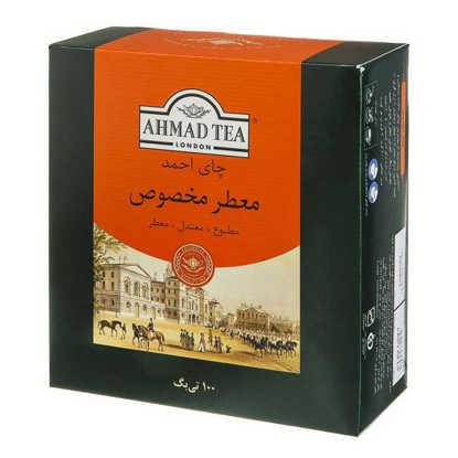 احمد-چای تی بگ معطر مخصوص100