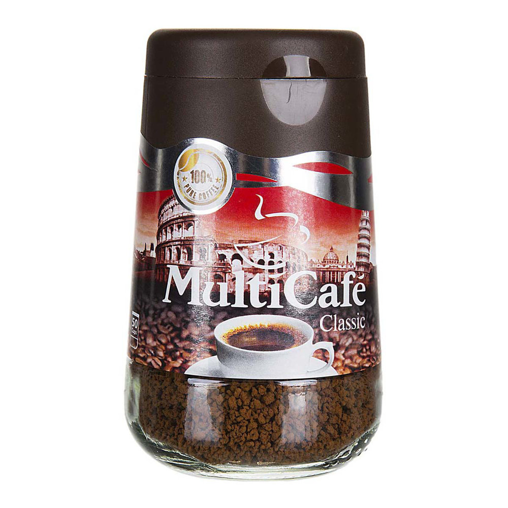 تصویر مولتی کافه قهوه کلاسیک شیشه