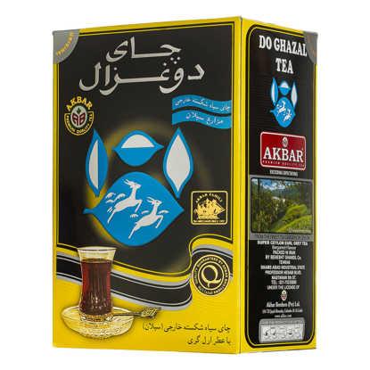 تصویر دوغزال چای مشکی