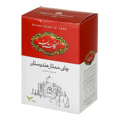 تصویر چای هندوستان 100 گرمی قرمز