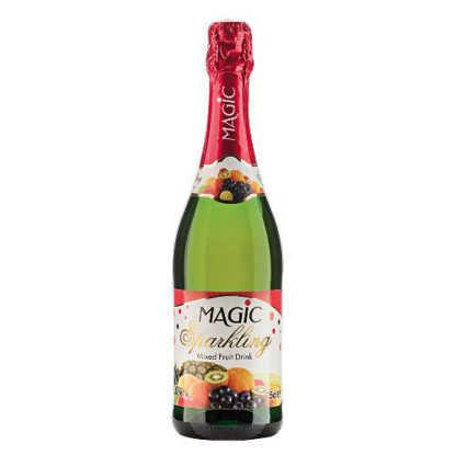 تصویر شامپاین بدون الکل شیشه استوایی