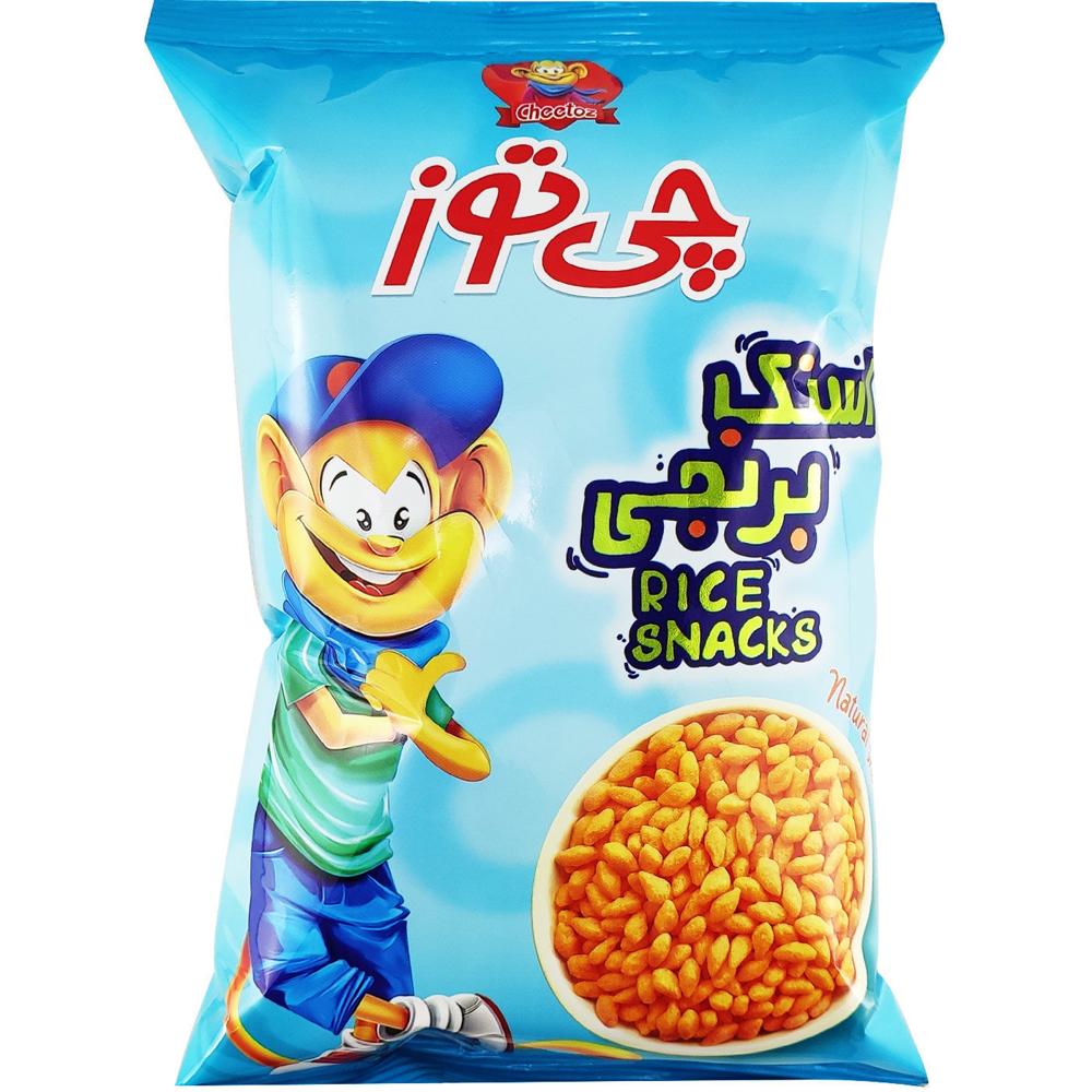 تصویر چی توز اسنک برنجی