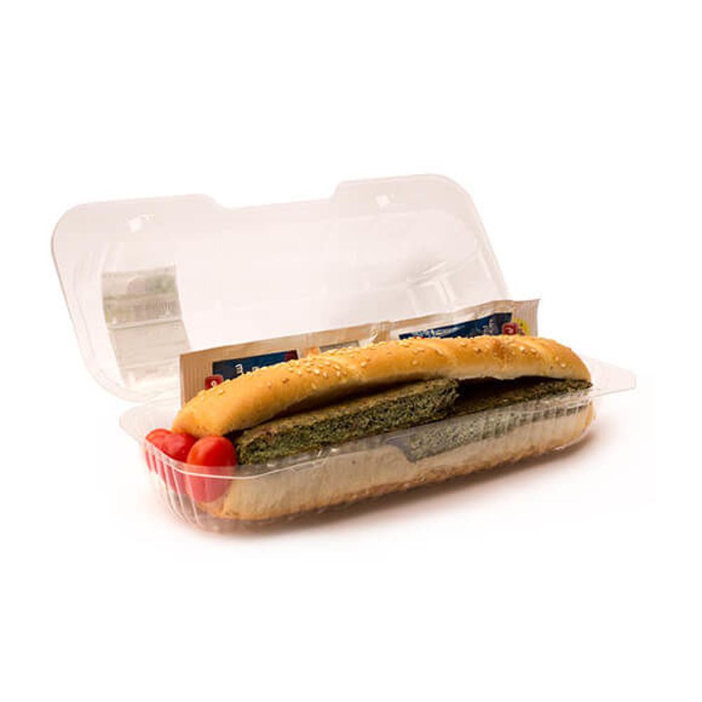 تصویر ساندویچ چاباتای کوکو سبزی