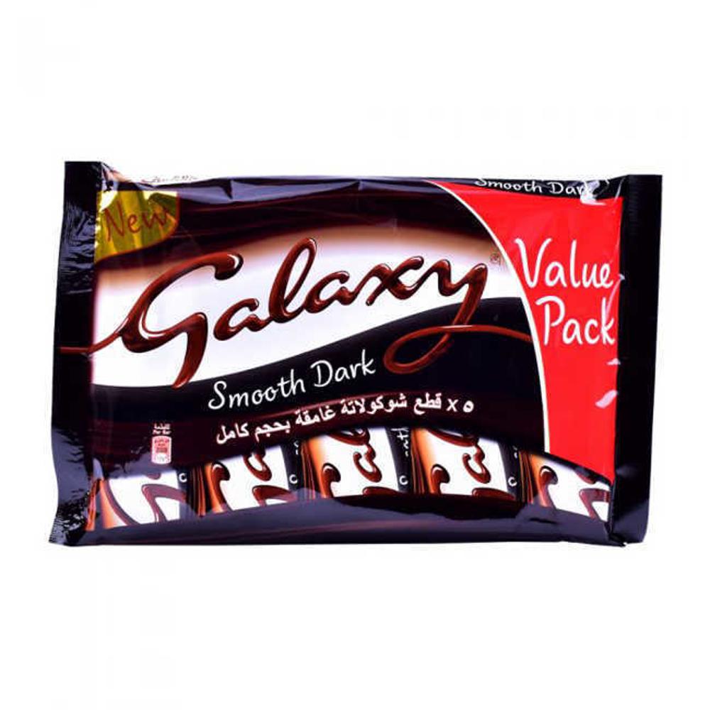 شکلات گلکسی تلخ 5 عددی