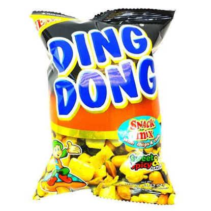 اسنک تند و شیرین  میکس ding dong