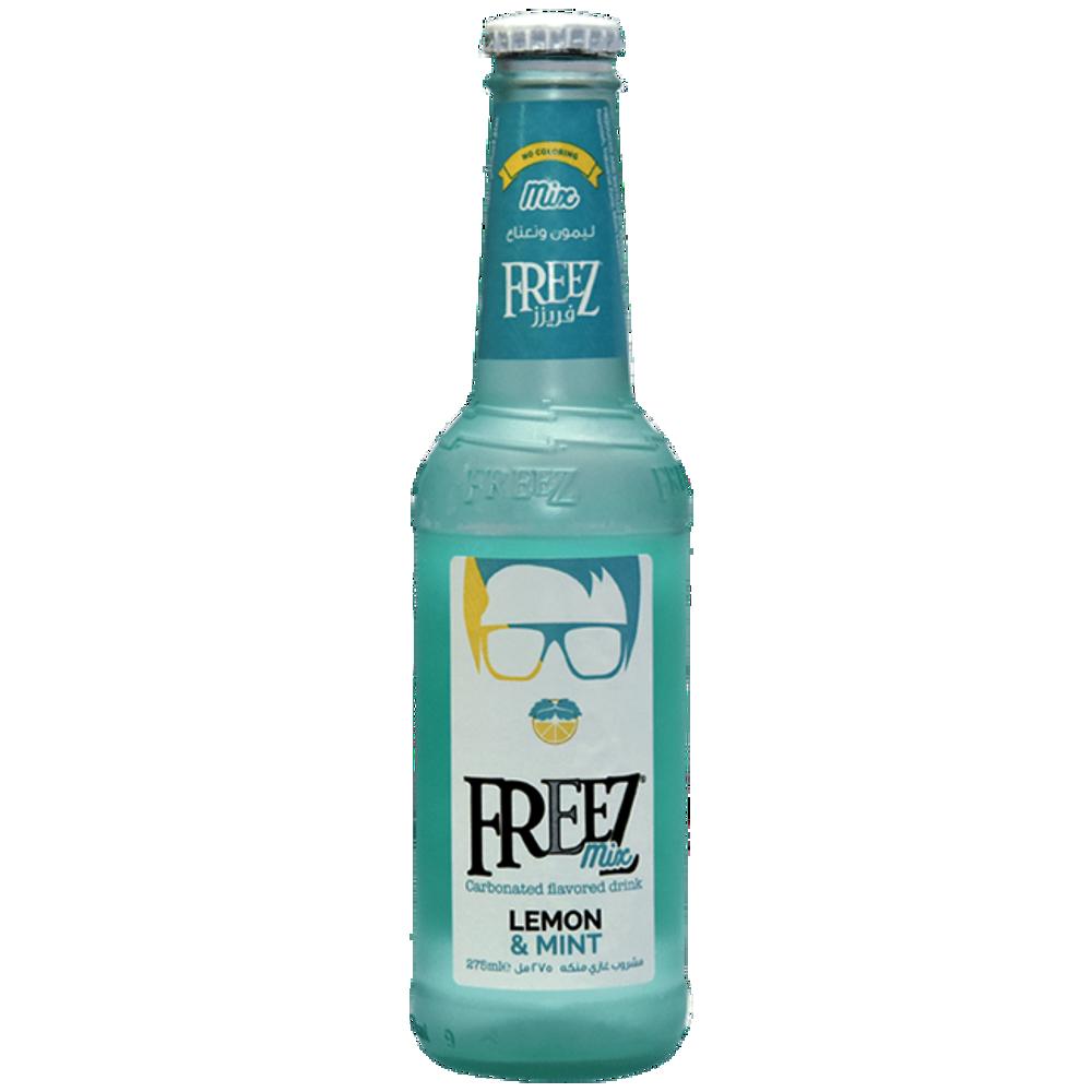 تصویر فریز نوشیدنی گازدار با طعم  لیمو نعناع 275 میلی لیتر