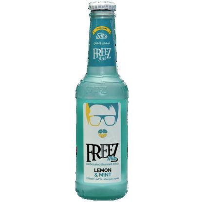 تصویر نوشیدنی گازدار با طعم  لیمو نعناع 275 میلی لیتر فریز