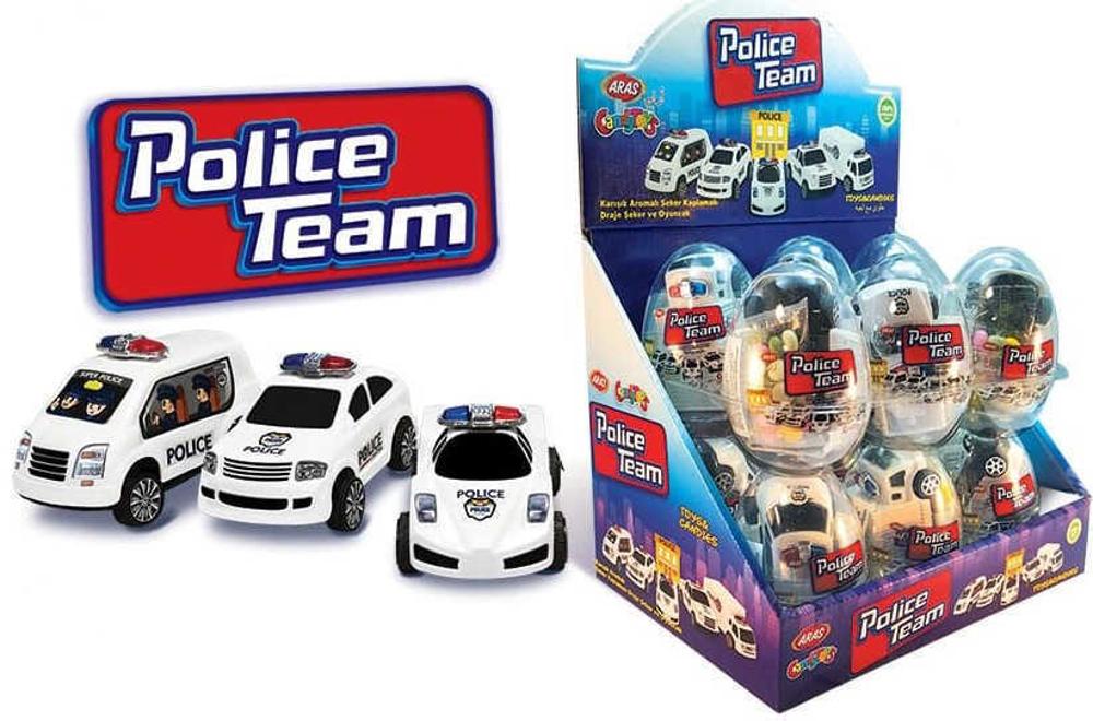 تخم مرغ کندی police team