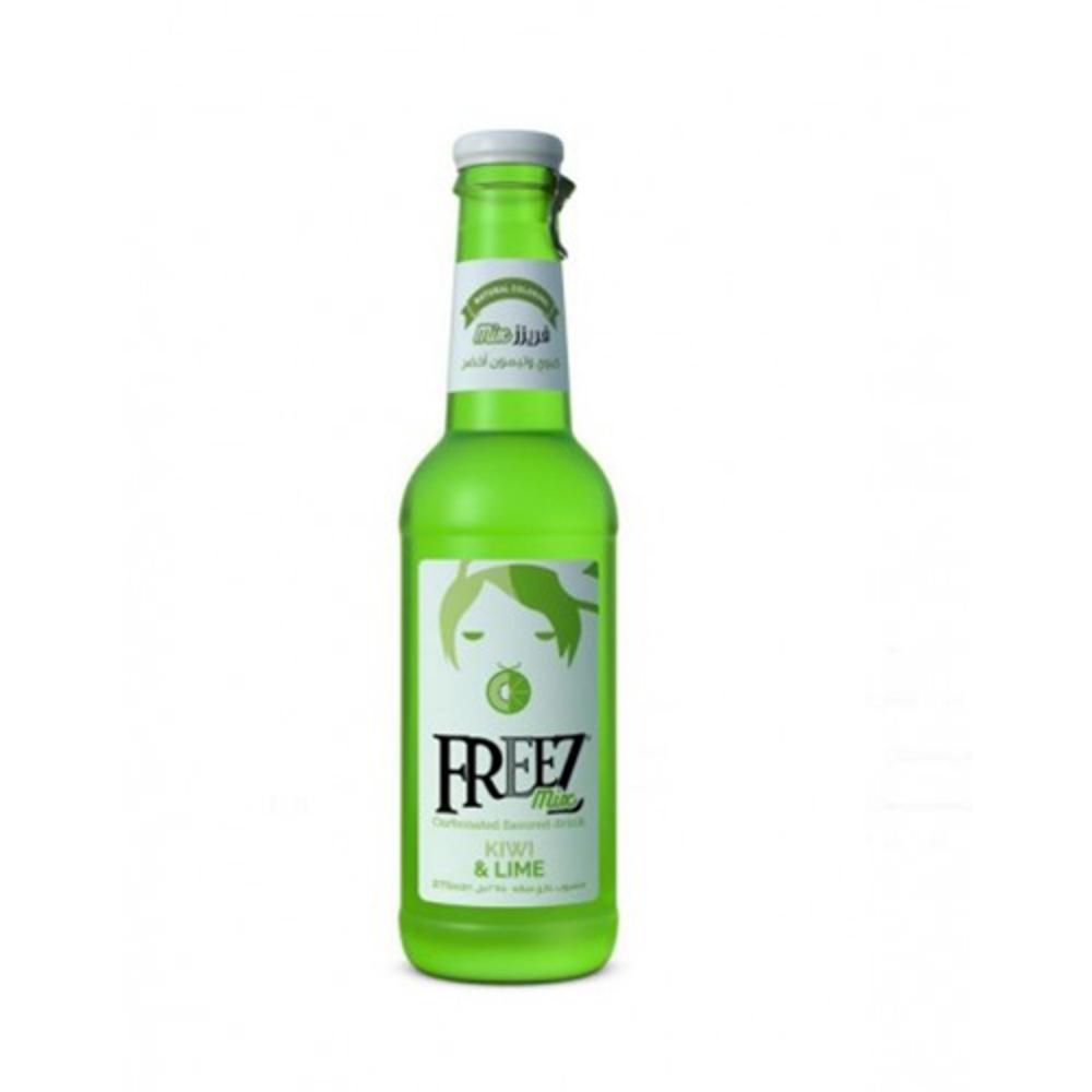 تصویر فریز نوشیدنی کیوی و لیمو