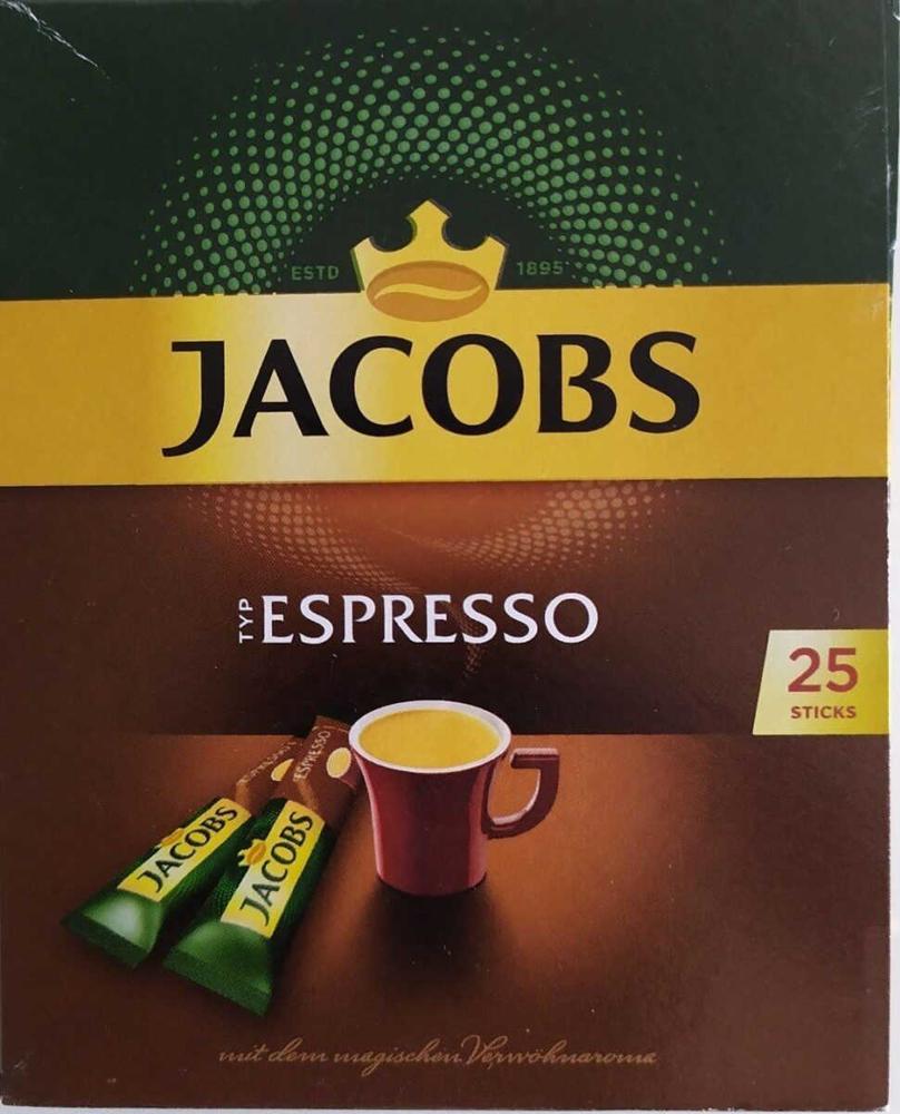 تصویر جاکوبز قهوه اسپرسو 25 عددی