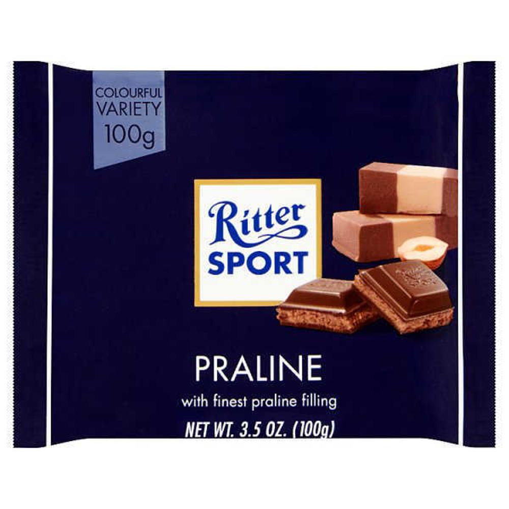 ریتر اسپورت-شکلات پرالین دورنگ