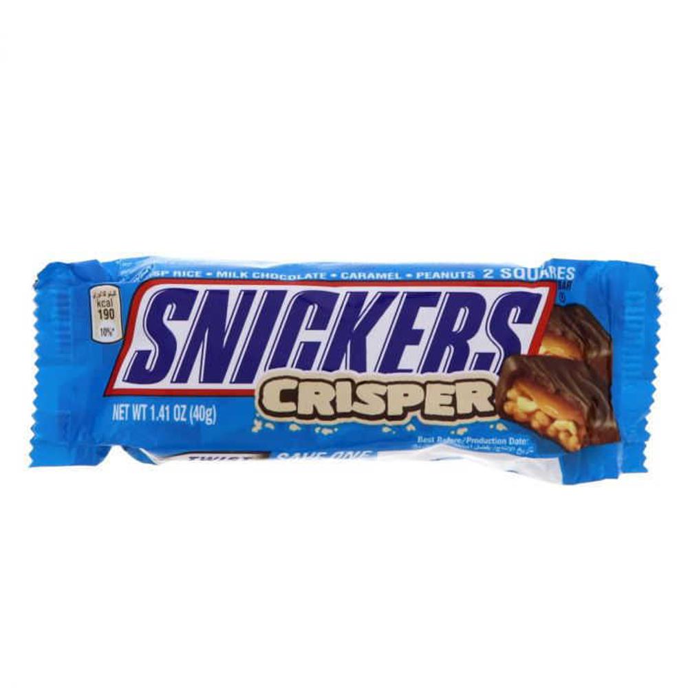 تصویر اسنیکرز شکلات کریسپی