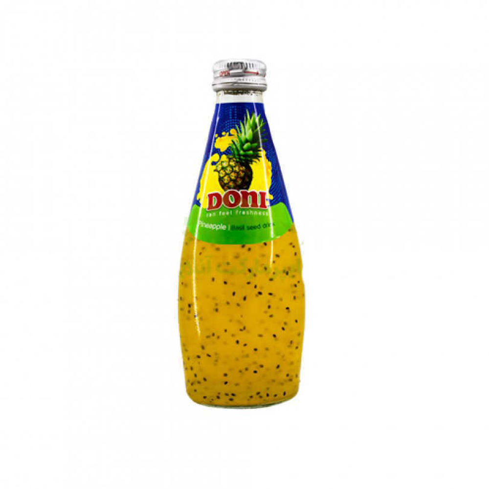 دانی نوشیدنی تخم شربتی آناناس