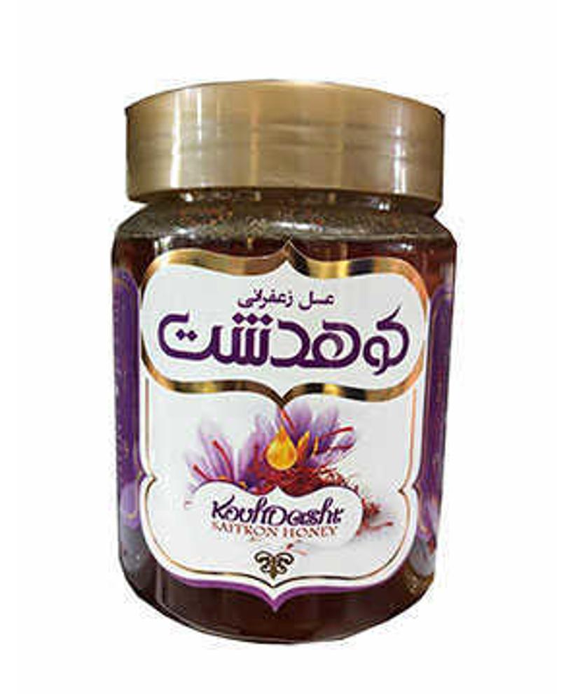 کوهدشت عسل زعفرانی(پت)600گرمی