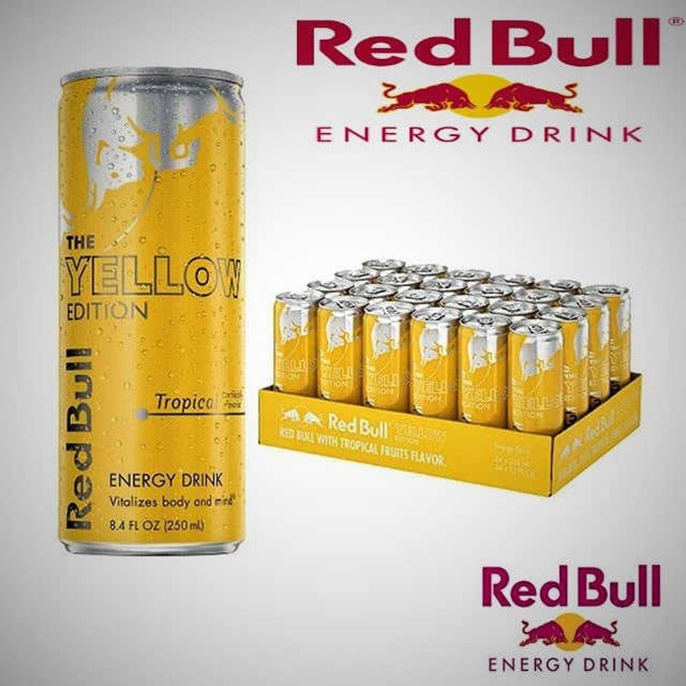 تصویر نوشیدنی انرژی زا ادیشن زرد