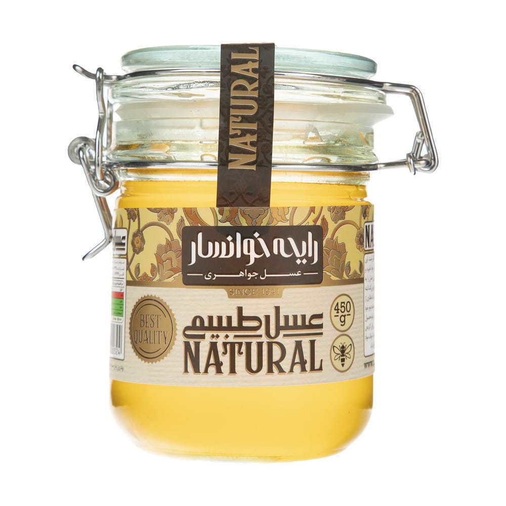 تصویر عسل طبیعی 400 گرمی درب قفل دار