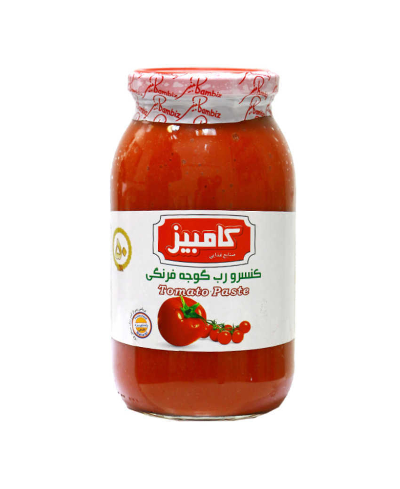 کامبیز کنسرو رب گوجه فرنگی 500گرمی