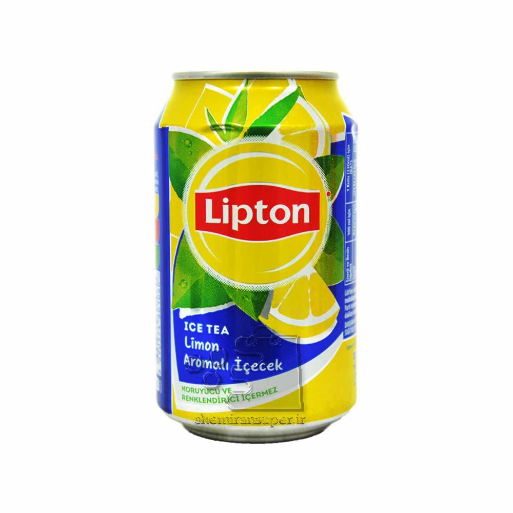 تصویر لیپتون چای سرد لیمویی