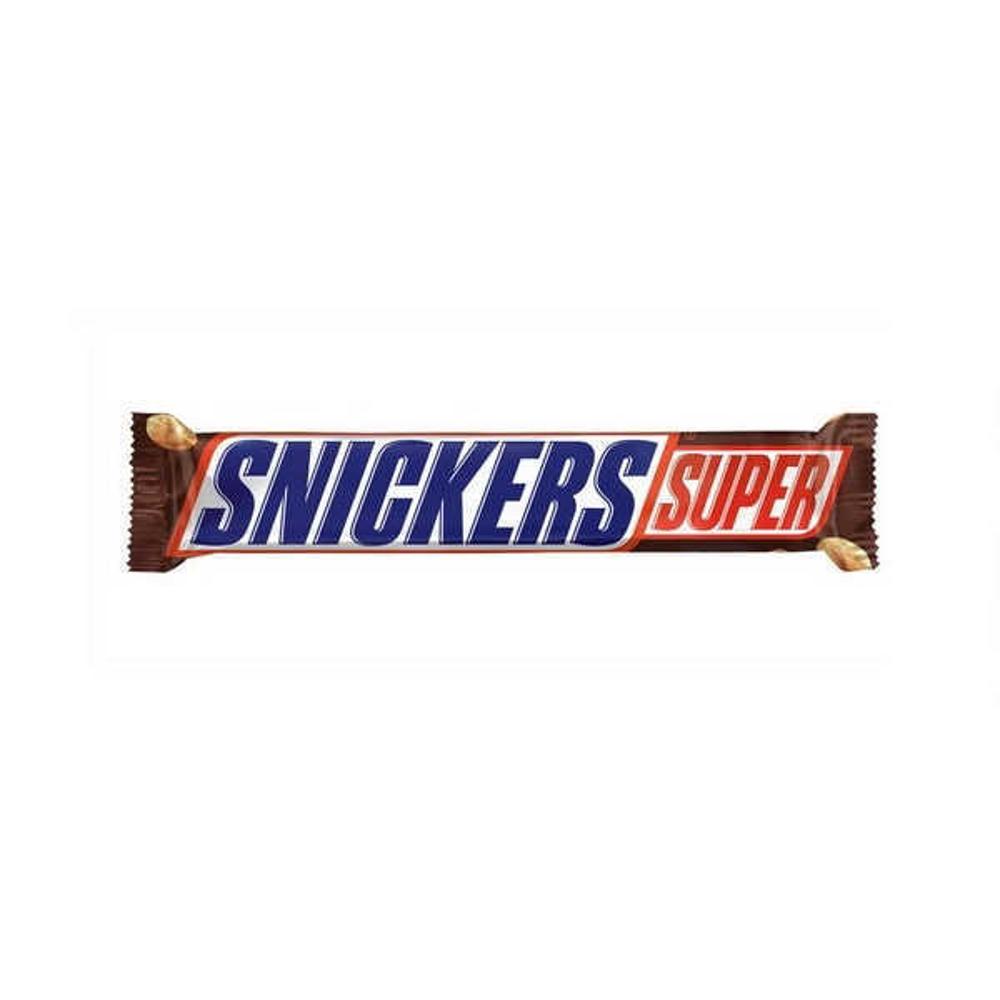 تصویر اسنیکرز شکلات سوپر 95 گرمی