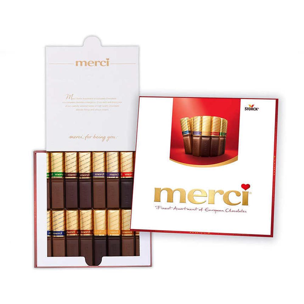 تصویر شکلات کادویی مرسی 200 گرمی