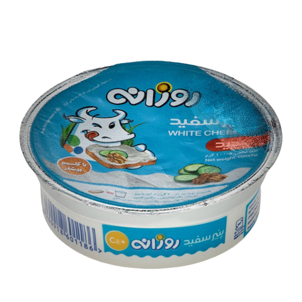 پنیر سفید ظرفی روزانه 100 گرمی